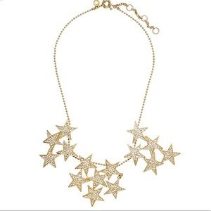 J crew star cluster necklace
